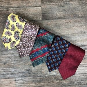 Other - Lot of 5 Silk Ties T27